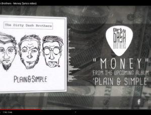 Money lyrics video